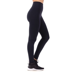 Calza Supplex Clasica Tiro Alto Negro