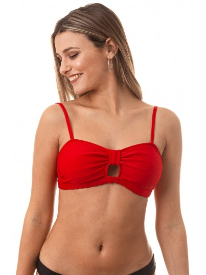 Strapless Aitana Chic Red