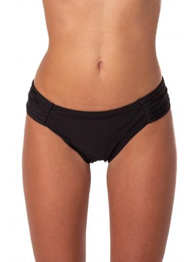 Bikini Grande Drapeada Negro